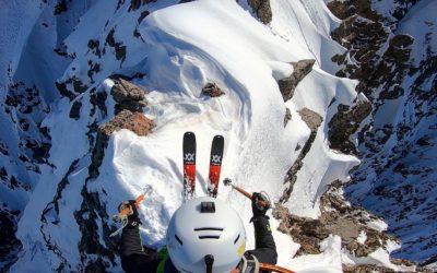 Ski : les deux premières haut-alpines de Paul Bonhomme
