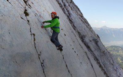 Marcel Rémy, grimpeur de 94 ans