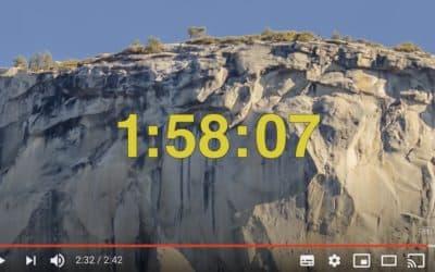 Le record du Nose en time-lapse avec Alex Honnold et Tommy Caldwell