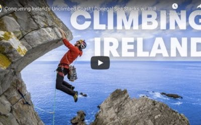 Escalade des sea stacks en Irlande avec Will Gadd
