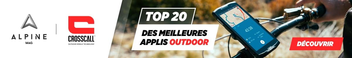 Top 20 applis