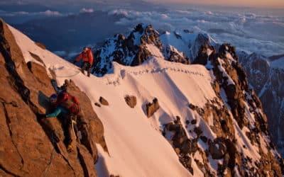 Mont Blanc : Hervé Barmasse et les frères Pou sur les piliers du Brouillard