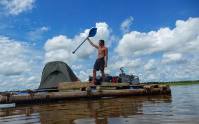 Dérive en Amazonie