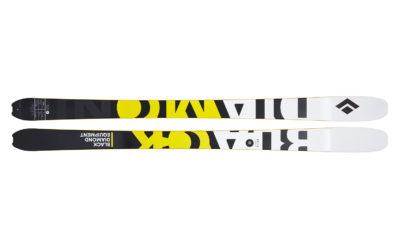 Test ski : Black Diamond Helio Carbon 88
