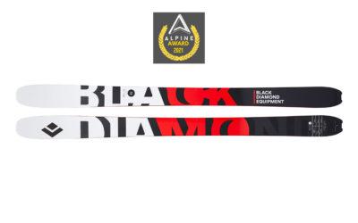 Test ski : Black Diamond Helio Carbon 95
