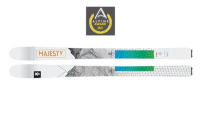 Test ski : Majesty Superwolf 91
