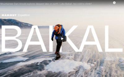 Film : Dani Arnold explore le lac Baïkal et ses cascades de glace