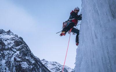 Vidéo : l'incroyable enchaînement des 5 cascades de glace intégrales de La Grave