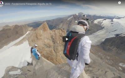 BASE jump en Patagonie pour le GMHM