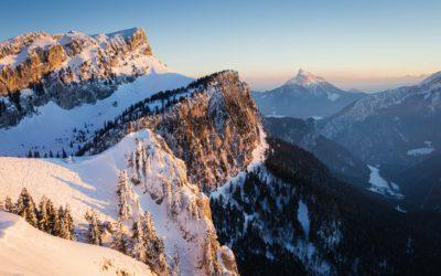 Chartreuse : le Petit Som en raquettes à neige