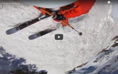 Nouvelle descente à skis de Paul Bonhomme en Mercantour