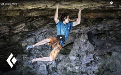 Seb Bouin : Akira, premier 9b, en vidéo