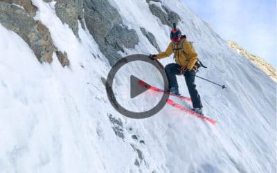 Vidéo ski : l'ouverture de Paul Bonhomme et Vivian Bruchez à la Tête Carrée