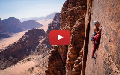 Escalade en Jordanie, le film du Roc Aventure Programme