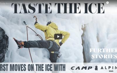 Taste the ice : initiation à la cascade de glace