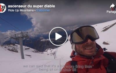 Les 2 Alpes en snowkite